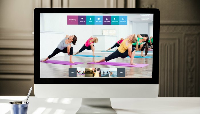 Mind Body Studio Website Design