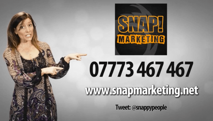 SNAP Marketing Ad